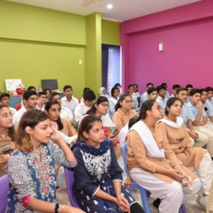 Awareness session on account of World Mental Health Day